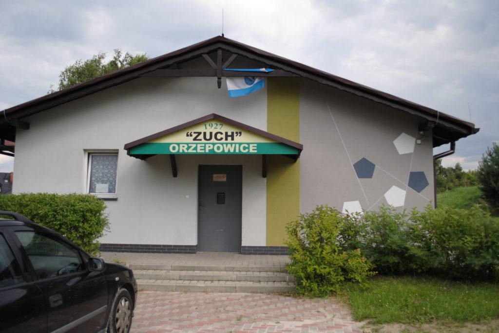 Budynek klubowy TKKF Zuch Orzepowice