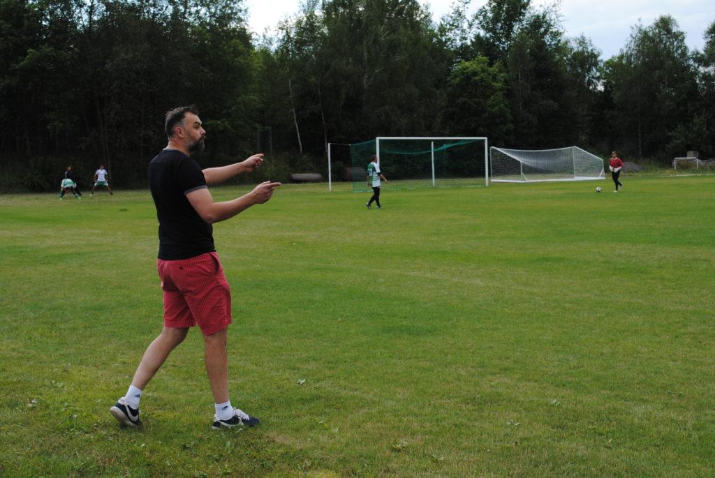 Trener Rymera Michał Podolak