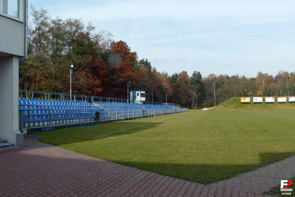 Stadion ŁTS Łabędy Gliwice