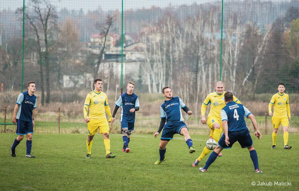 piłkarze Rymera i Jedności