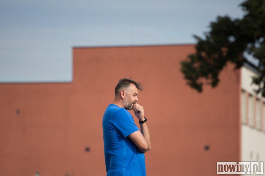Trener Michał Podolak