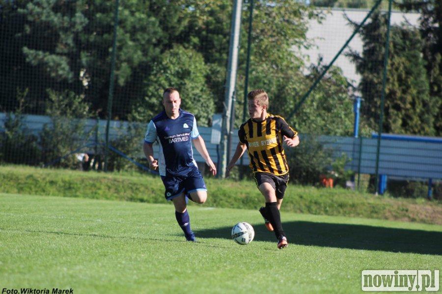 Piłkarze Rymera i Skrzyszowa