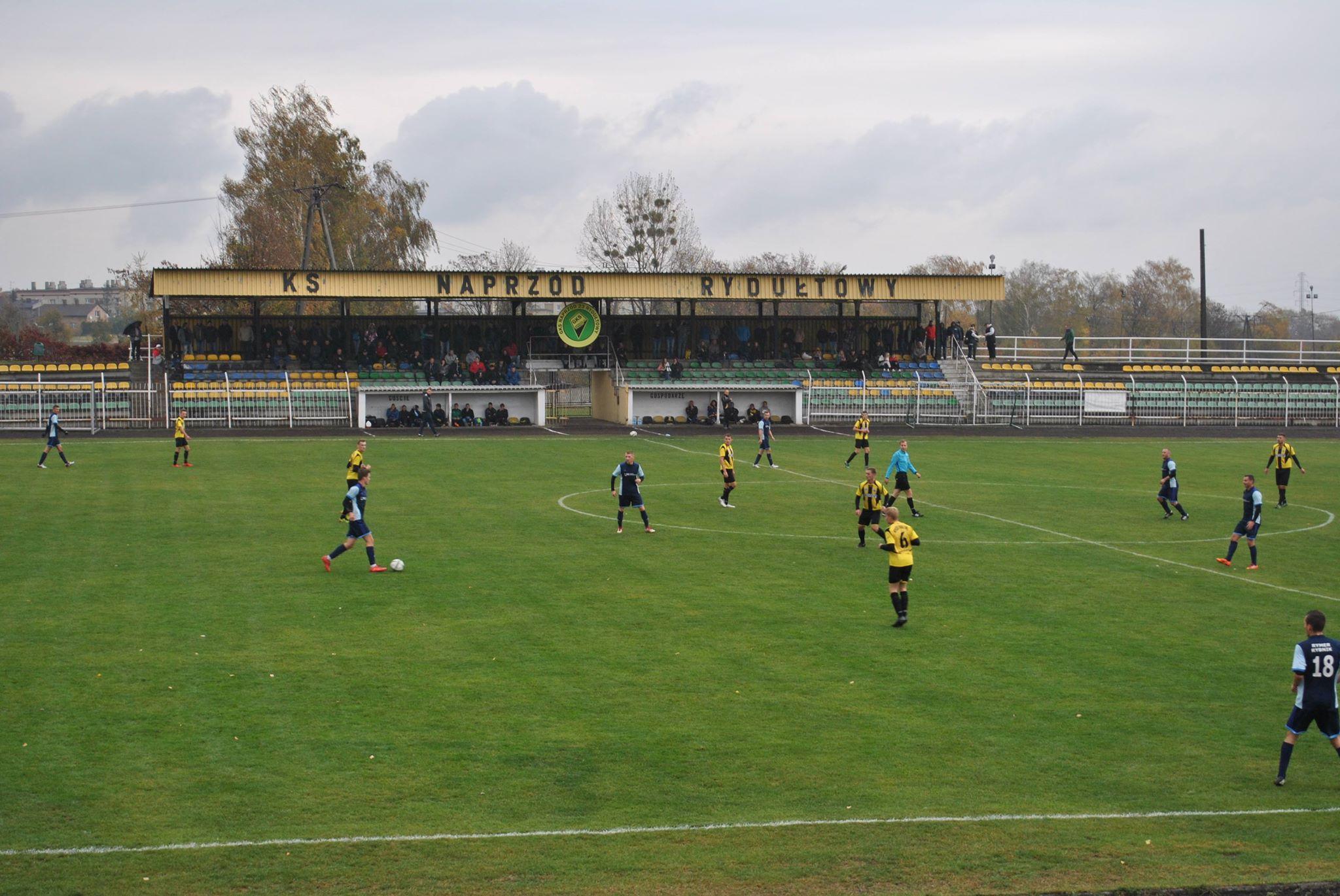z meczu Naprzód Rydułtowy - KS Rymer.