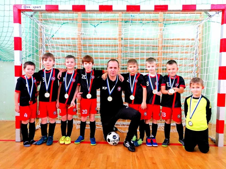 Zwycięska drużyna Rymera